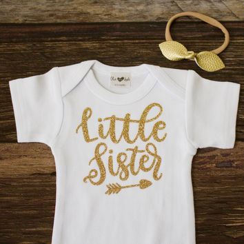 Gold Little Sister Onesuit