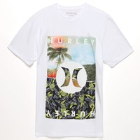 Hurley Torn T-Shirt - Mens Tee - White
