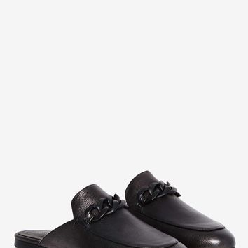 Jeffrey Campbell Apfel Leather Slip-On Flat
