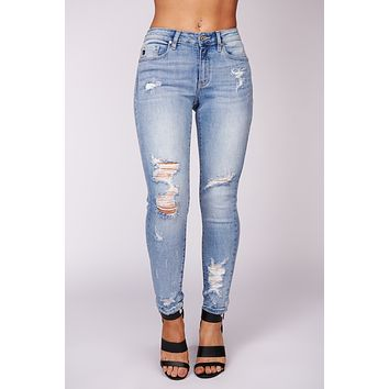 Anything Can Happen KanCan Jeans (Medium Wash)