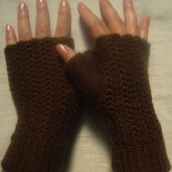 Warm and comfortable, 100% ALPACA wool, different colors, fingerless gloves