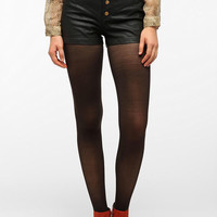 Urban Outfitters - Silence & Noise High-Rise Faux Leather Short