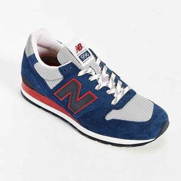 DCCK1IN new balance made in usa 996 montauk collection running sneaker dark blue