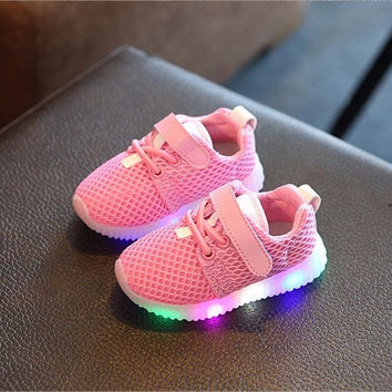 Baby Girl LED Light Shoes