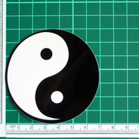 Yin Yang Sticker Decal