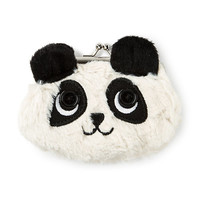 Plush Panda Coin Purse