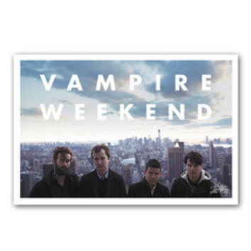 Vampire Weekend Merchandise Store  - Vampire Weekend  Posters  City Poster