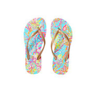 Pool Flip-Flop - Scuba To Cuba - Lilly Pulitzer