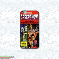 Creepshow, Classic Comic, Custom Phone Case for iPhone 4/4s, 5/5s, 6/6s, 6/6s+, iPod Touch 5