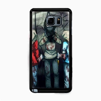 Creepypasta Ticci Toby dead for Samsung Galaxy Note 5 Case *NP*