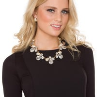 Maralyn Necklace Set - Pearl