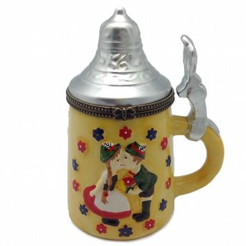 German Gift Beer Stein Hinge Box