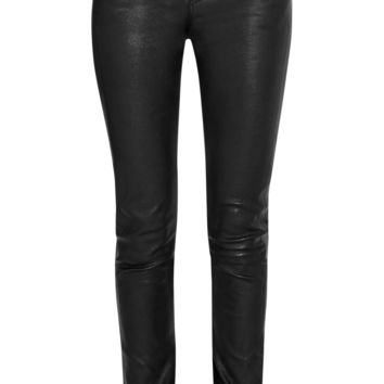 Helmut Lang - Leather skinny pants