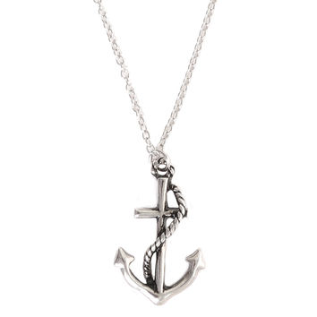 LOVEsick Anchor Necklace