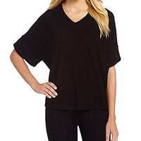 N by Natori Terry Lounge Pullover Top