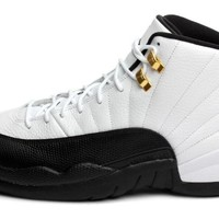 "Nike Mens Air Jordan 12 Retro ""Taxi"" Leather Basketball Shoes"