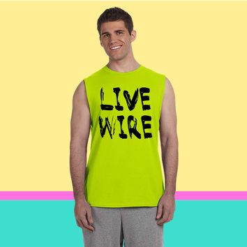 Live  Sleeveless T-shirt