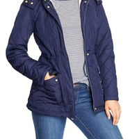 Women's Quilted Sherpa-Lined Anoraks