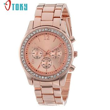 OTOKY Hot Unique  relojes mujer 2016 Faux Chronograph ladies quartz-watch  watch women reloj Watch Drop Shipping F15