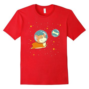 Corgi Christmas Sweater Corgi Space Astronaut Gift For Dog L