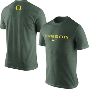 Oregon Ducks Nike Basketball Tri-Blend T-Shirt – Green