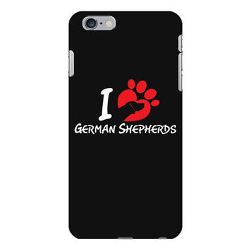 i love German Shepherds iPhone 6/6s Plus Case