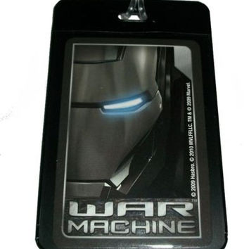 War Machine Iron Man Luggage or Book Bag Tag