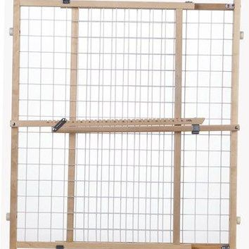 North States 4618 Supergate Expandable Wire Mesh Gate, Extra Wide