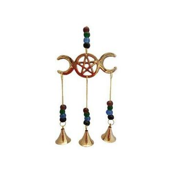 Triple Moon wind chime