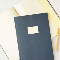 Poketo Color Pop Daily Planner Notebook- Navy One