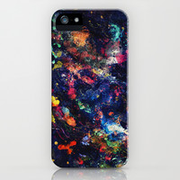 Abstract Splatters iPhone & iPod Case by Electric Avenue