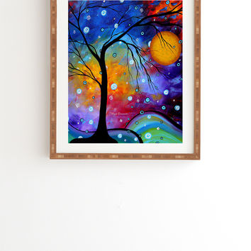 Madart Inc Winter Sparkle Framed Wall Art
