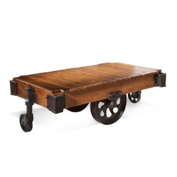 Bassett Mirror Company Factory Cart Table