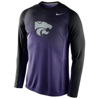 Nike Kansas State Wildcats Fearless Shootaroud Performance Tee