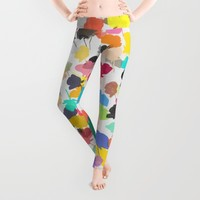 buttercups 3 Leggings by Garima Dhawan