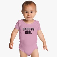 Daddys Girl Baby Onesuits