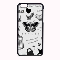 One Direction Harry Styles Tattoos FOR IPHONE 6 CASE NEWEST *PS*