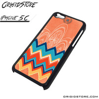 Chevron With Apple Logo Case For Iphone 5C Case