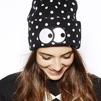 Lazy Oaf Peek A Dot Beanie