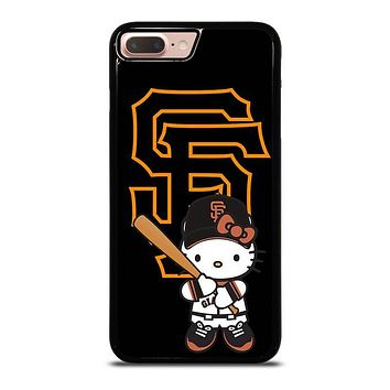 SAN FRANCISCO GIANTS HELLO KITTY iPhone 8 Plus Case Cover