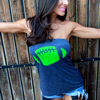 Football  FD Feel Naked Tshirt Tube Tops- 5 tube top colors and 14 ink colors.  It's the Most Wonderful Time of the Year Sale 10 off