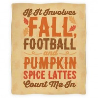 If It Involves Fall Football and Pumpkin Spice Lattes Count Me In