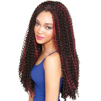 Isis Caribbean Bundle Braid - Bermuda Wave