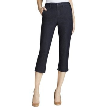 NYDJ Womens Stretch Crop Cropped Jeans