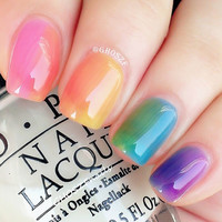 Ombre Nails | Nail Art Pretties Blog