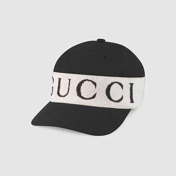 GUCCI Popular Women Men Personality Cool Sun Baseball Hat Cap With Gucci Headband I