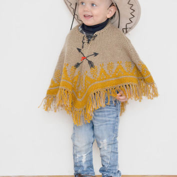 Best Hand Knit Ponchos Products On Wanelo