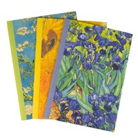 Vincent van Gogh Floral Writer's Notebooks: Set of Three