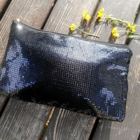 Black Sequin Clutch, Vanity Cases, Toiletry Bag, Black Bag, Evening Bag, Bright Sequin Bags