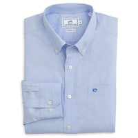 Sullivan's Solid Sport Shirt in Sail Blue by Southern Tide